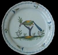 assiette-perroquet-arbre